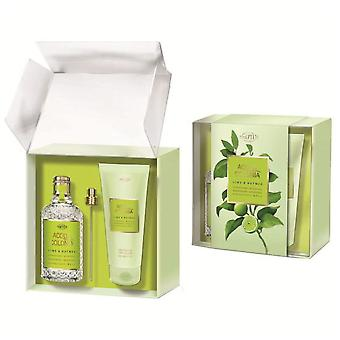 4711 Acqua Colonia Eau De Cologne Nutmeg Lime 170ml + Gel 200Ml