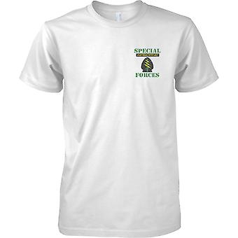 Special Forces Airborne  - Green Berets - Mens Chest Design T-Shirt
