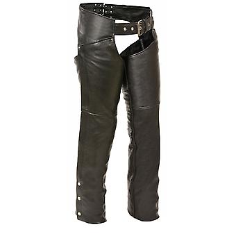 Womens Classic Leather Hip Pocket Chaps