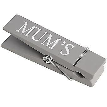 Hill Interiors Novelty Wooden Memo Peg (Mums/Dads/Kids)