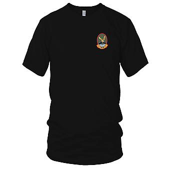 US Navy VS-24 Aviation Air Sea Control Squadron vierundzwanzig gestickt Patch - Herren-T-Shirt