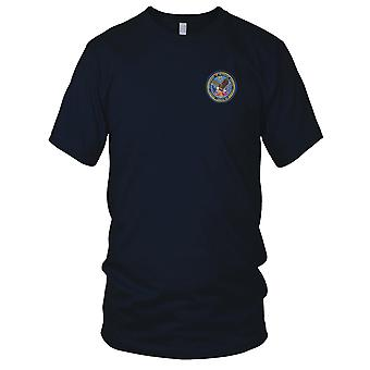 Dept. of Veterans Affairs Small Embroidered Patch - Mens T Shirt