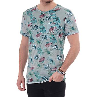 Pearly King Crossed Ss Cn Floral Tee