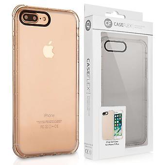 Caseflex Iphone 7 Plus TPU Gel sag - klar