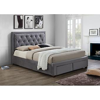Birlea Woodbury Grey Super King Size Bed