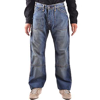 Evisu mens MCBI338012O Blau cotton of jeans