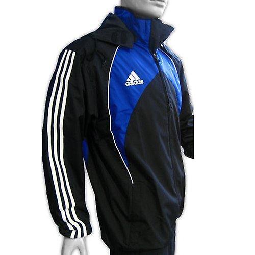 ADIDAS rugby rain jacket [black/blue]