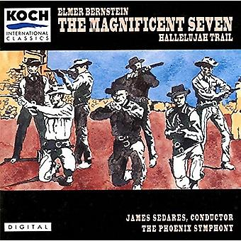 Elmer Bernstein - Magnificent Seven: Komplet Original Soundtrack [Vinyl] USA import