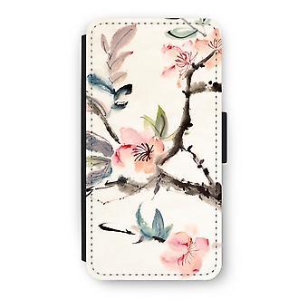 Huawei Ascend P10 Flip Case - flores de Japenese