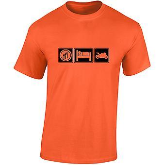 Eat Sleep Motorbikes Mens T-Shirt 10 Colours (S-3XL) by swagwear