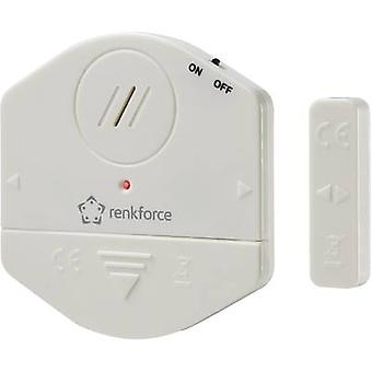 Door/window alarm incl. solar cell 100 dB Renkforce 1270198