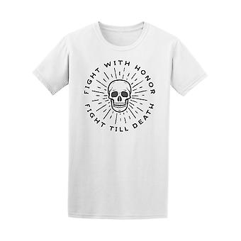 Fight With Honor Vintage Tee Men's -Image by Shutterstock