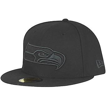 New era 59Fifty Fitted Cap - noir NFL Seattle Seahawks
