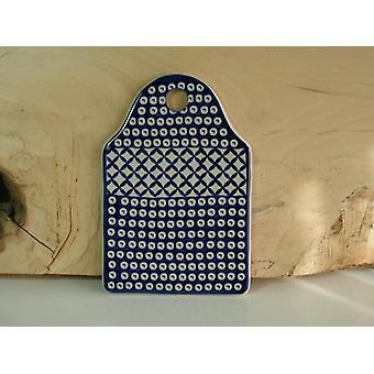 Frühstücksbrettchen, 23 x 15 cm, Tradition 57, Blaues Gitter - BSN 62136