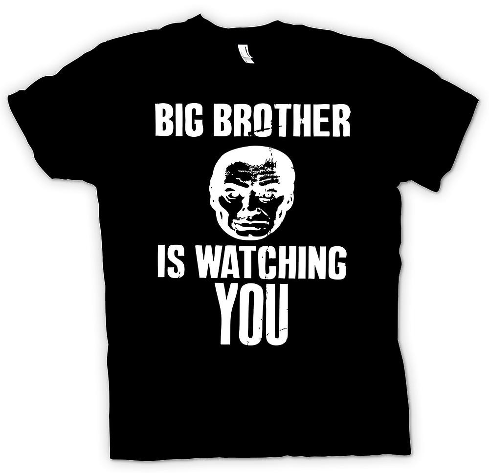 Mens T-shirt-Big Brother beobachtet - 1984