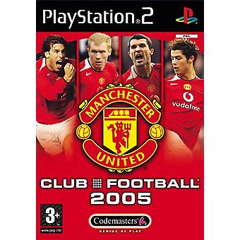 Club Football Manchester United 2005 (PS2)