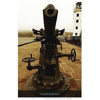 Out Of The Barrel Of A Gun - Torchon 100% coton - Art247