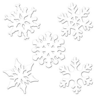 Mini Snowflake Cutouts