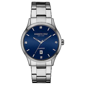 Kenneth Cole New York mannen pols horloge analoge roestvrijstaal 10030778