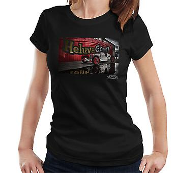 HCS Special Distressed Effect Indy Racer Women's T-Shirt