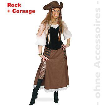 Пиратский костюм дамы Пиратская леди маркитант скотнице хозяйка леди костюм