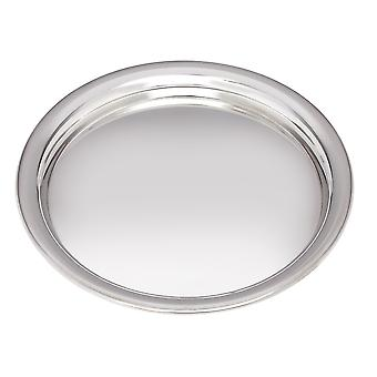 Small 170Mm Round Pewter Tray