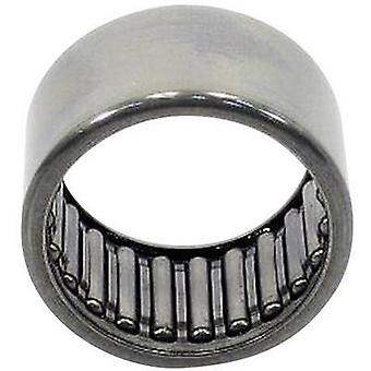 HK-needle roller bearings UBC Bearing HK 1616 Bore diameter 16 mm Outside diameter 22 mm Rotational speed (max.) 10000 r