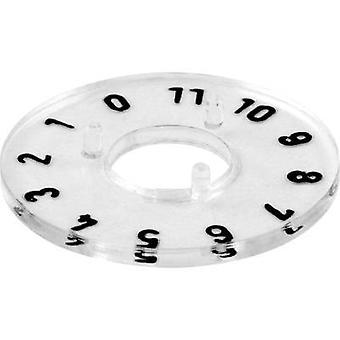 Mentor 331.204 cadran numéroté disque, 1-11