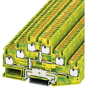 Phoenix Contact 3210525 PT 2,5-3PE Push-In Three-level Protective Conductor Terminal PIT-PE Green-yellow