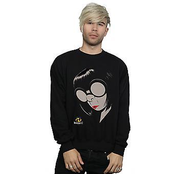 Disney Men's The Incredibles 2 Edna Sweatshirt
