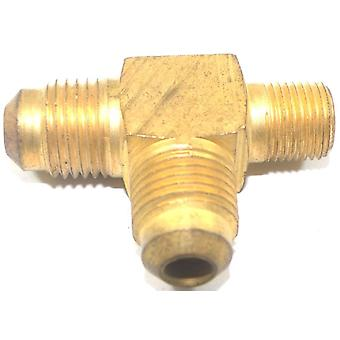 Big A Service Line 3-151520 Brass Pipe, Flare Tee Fitting 5/16