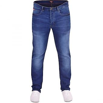 Life and Glory Mens Extra STRETCH JEANS Life And Glory Soft Slim Fit Soft Denim Straight Leg Jeans