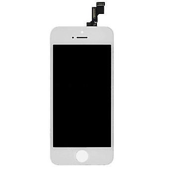 Stuff Certified ® iPhone SE / 5S screen (Touchscreen + LCD + Parts) AA + Quality - White