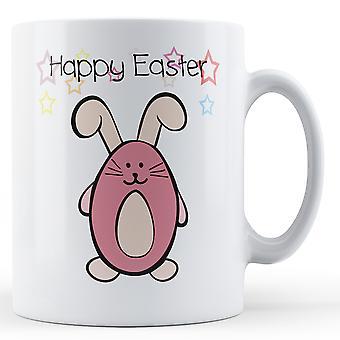 Dekoracyjne, pisanie Happy Easter Bunny - kubek z nadrukiem