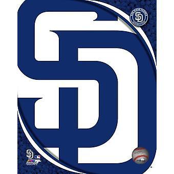 2018 San Diego Padres Team Logo Photo Print