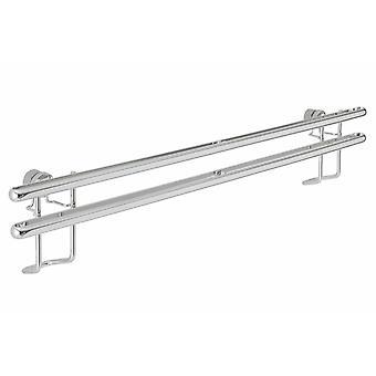 Heine hjem sølv høj kvalitet rustfrit stål kniv bar uden boring længde 40 cm