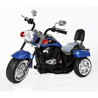 Harley-Davidson Style Kids 3 Wheel Chopper 6V Electric Motor Trike Blue