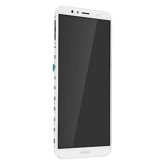 LCD complete replacement part with touchscreen for Huawei Y6 2018 - White