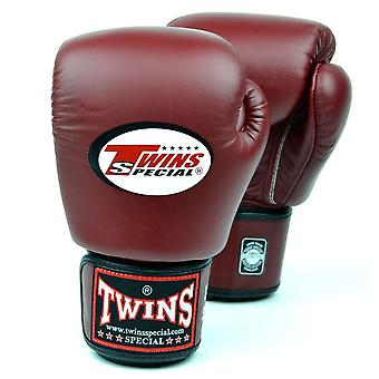 Twins Special Burgundy Boxing Gloves