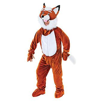 Mr Fox with Costume with Big Head Unisex Costume