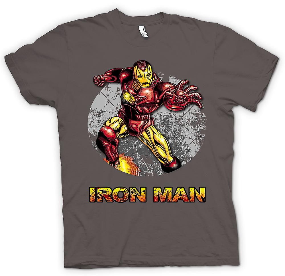 Comic superhéroes mens t-shirt - Iron Man-