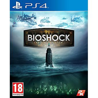 Nye lukkede Bioshock samling PS4 konsol Video Action adventurespil