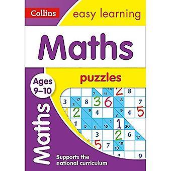 Matematik pussel åldrar 9-10 (Collins lätt lärande KS2)