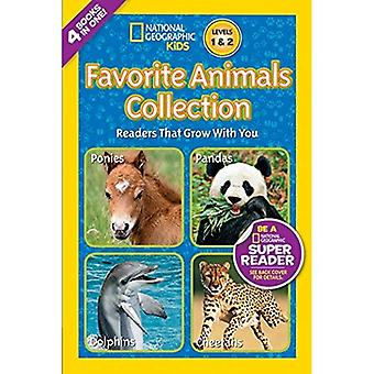 Favorite Animals Collection (National Geographic Readers: Levels 1 & 2)