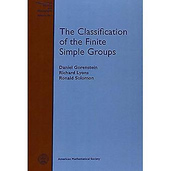 The Classification of the Finite Simple Groups (Mathematical Surveys and Monographs)