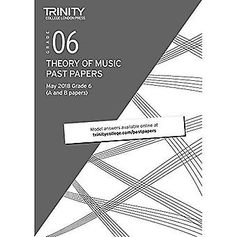 Trinity College London Theory of Music Past Papers (May 2018) Grade 6