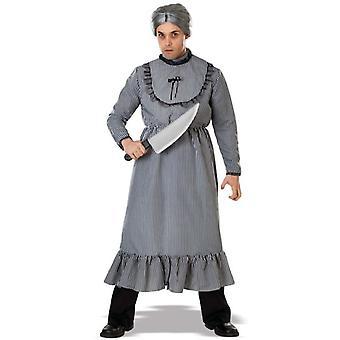 Crazy Grandma Adult Costume