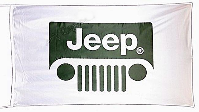 Jeep flag  1500mm x 900mm   (of)
