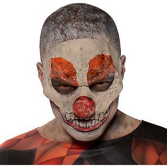 Böser Clownsmaske für Halloween - 18288