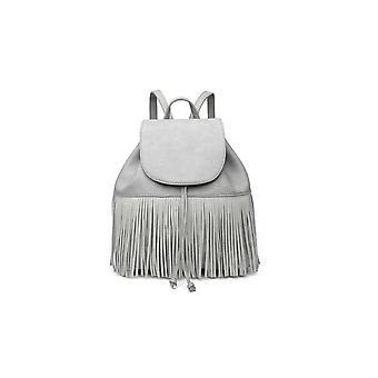 IKRUSH Womens Cindee Faux Leather Fringe Backpack Bag